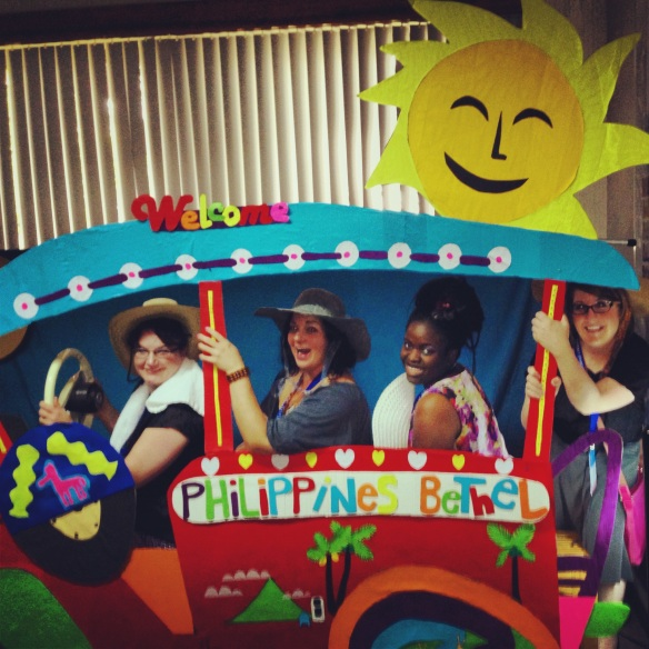 Jeepney photo op.