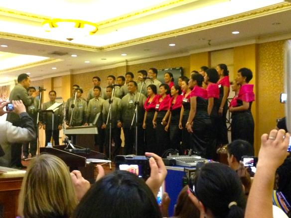 The bethel singers.