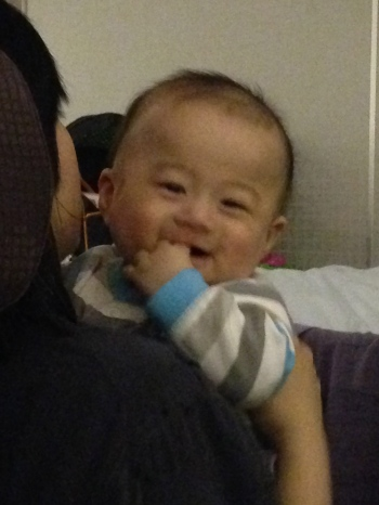 This little charmer - Steven - smiled at me for nearly the entire 11 hours of the Seattle to Seoul leg.
